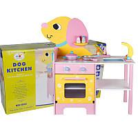 Деревянная игрушка детская кухня Собачка