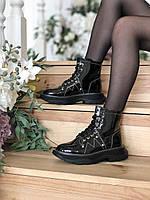 "Женские ботинки в стиле "" ALEXANDER MCQUEEN Tread Slick Boots """