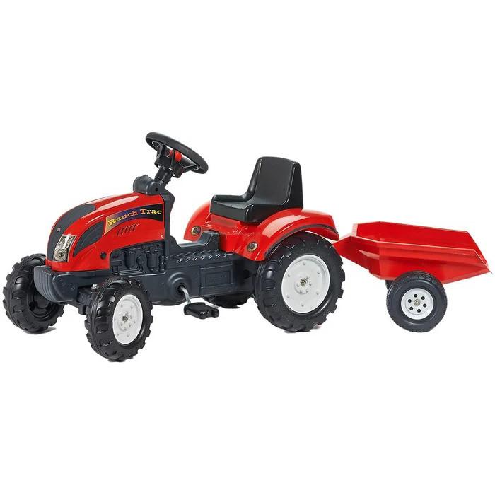 Дитячий педальний трактор з причепом FALK Ranch 2051A 2-5 років