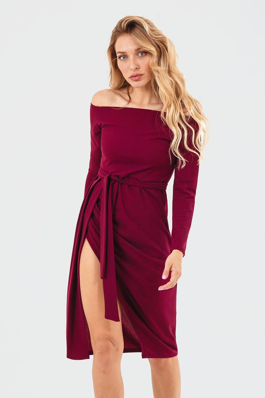 S, M, L | Вечірнє жіноче плаття Sharlin, марсала
