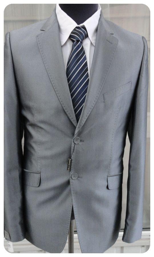 Мужской костюм West-Fashion модель А-14 серый