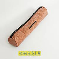 Чехол для йога коврика Yoga bag Пробковый SP-Planeta (размер 13 см х 65 см)