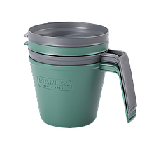 Набір кухлів Stanley Adventure eCycle 0.47 л 2 шт Зелений