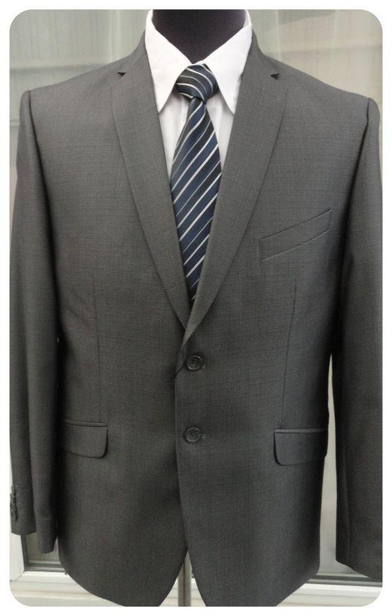 Чоловічий костюм West-Fashion модель А-698 сірий