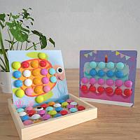 Деревянная развивающая обучающая игрушка мозаика Oray
