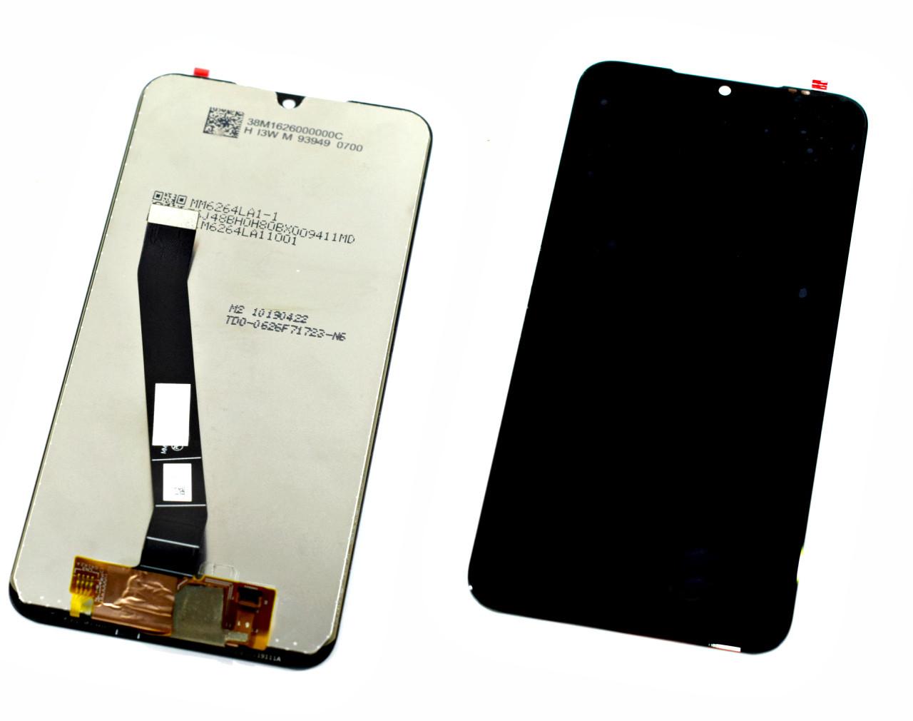 Дисплей для Xiaomi Redmi 7A черный, с тачскрином