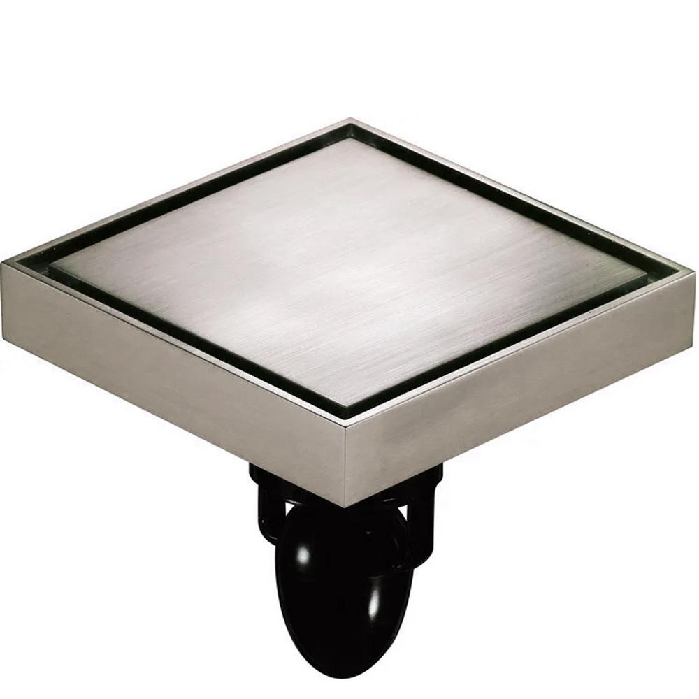 С7 Трап сливной MAGdrain WC02Q5-N матовый никель 100х100 мм Н-100