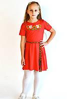 Детские вышитые платья для девочек от производителя ЕтноМодерн M-802-2