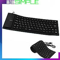 Гибкая резиновая клавиатура FLEXIBLE KEYBOARD X3 от USB