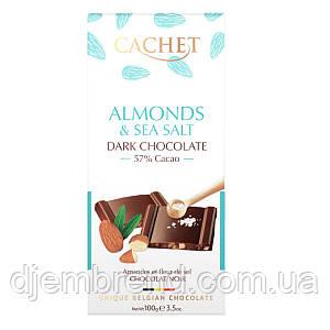 Шоколад Cachet Almonds & Sea Salt