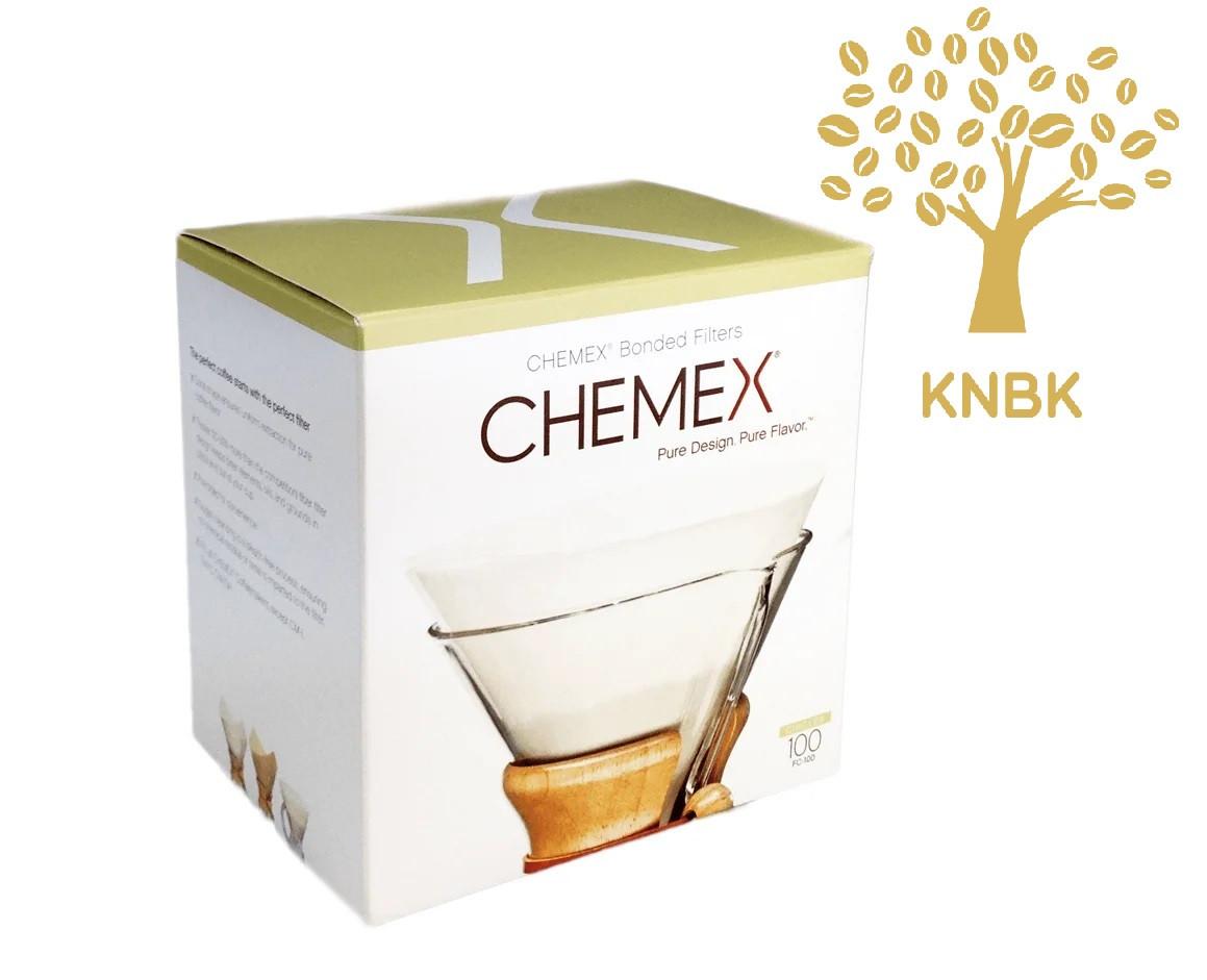 Фільтри для Кемекса Chemex 6/8/10 cup (Білі 100 шт.) FC-100