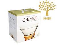 Фільтри для Кемекса Chemex 6/8/10 cup (Білі 100 шт.) FC-100, фото 1