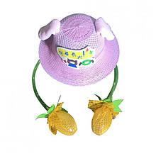 Детская шляпа для девочки Unicorn Китай 1PCS Фиолетовый