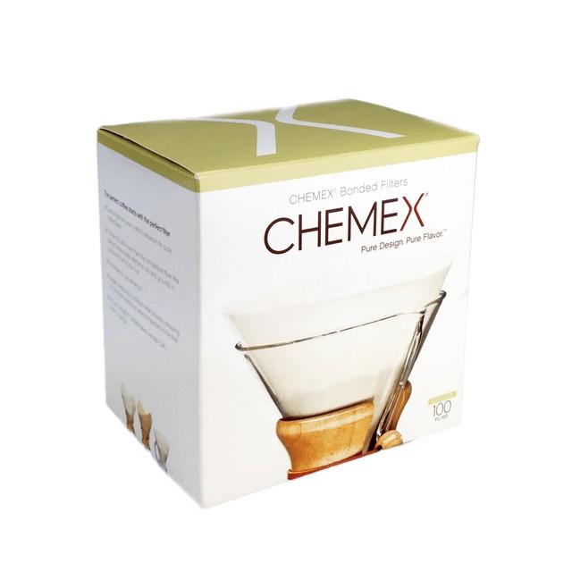 Фільтри для Кемекса Chemex 6/8/10 cup (Білі 100 шт.)