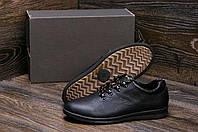 Мужские кожаные демисезонные кроссовки
