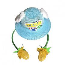 Детская шляпа для девочки Unicorn Китай 1PCS Голубой