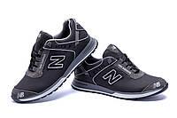 Стильные фирменные мужские кроссовки из натуральной кожи NB (реплика)