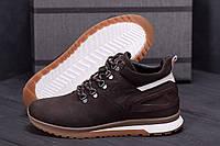 Спортивные мужские кроссовки зима, кожаные зимние мужские ботинки