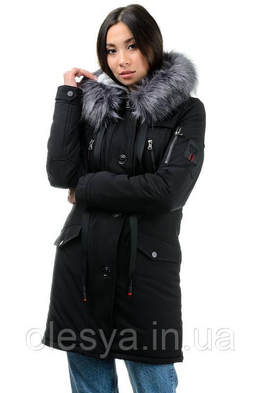 Куртка парка молодежная, подростковая, женская Фокс Размер 50