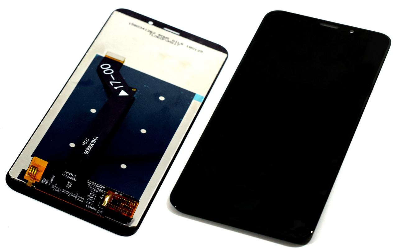 Дисплей для Xiaomi Redmi 5 Plus черный, с тачскрином