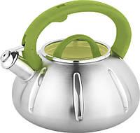 Чайник со свистком Unique UN-5303 кухонный на 3 литра (12387)