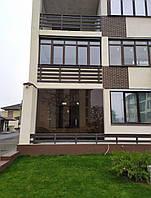 Стеклянный фасад, витрина Glass Construct