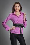 Рубашка женская мод №02, размеры 42,44,46,48(только опт), фото 4