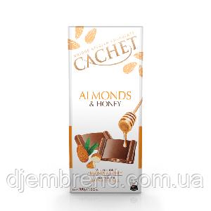 Шоколад Cachet Almonds & Honey
