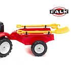 Детский педальный трактор с прицепом Falk 2058G GARDEN MASTER 2-5 лет, фото 4