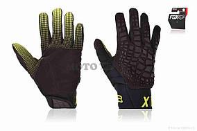 Перчатки вело  FOX  #360, XL, черные