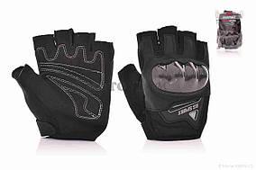 Перчатки мото  RS SPURT  без пальцев, L, черные