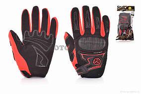 Перчатки мото  SCOYCO  #MC23, XL, красные