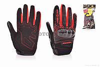 Перчатки мото  SCOYCO  #MC65, L, красные