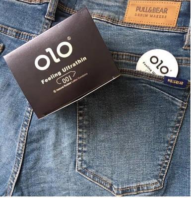 Презервативы OLO с гиалуроновой смазкой (по 1 шт)