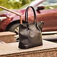 """Сумка женская кожаная для покупок """"Shopper"""", фото 3"""