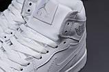 Зимние женские кроссовки 31551, Nike Air Jordan (мех), белые, [ 36 40 ] р. 36-23,5см., фото 5
