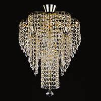 Хрустальная люстра для зала, спальни на 4 лампочки