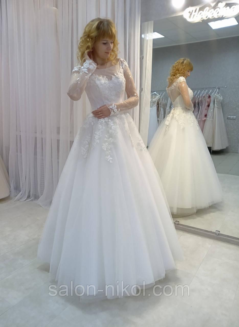 Свадебное платье 1863