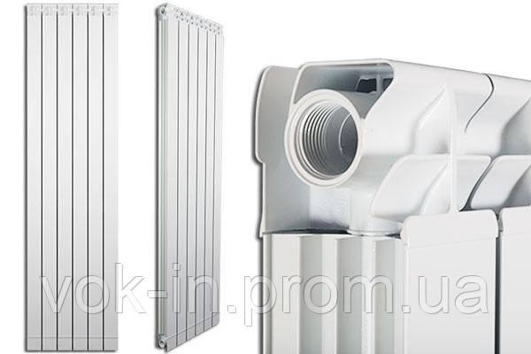 ALETERNUM MAIOR 90 радиатор алюминиевый (4-секции) 1800mm 16атм, фото 2