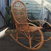 Кресло-качалка Классик полностью из лозы