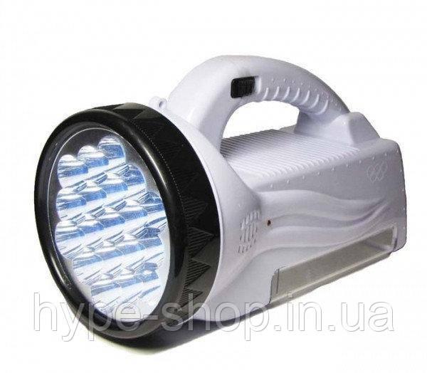 Фонарь ручной аккумуляторный светодиодный ЛЕД прожектор BL-222