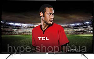 Телевизор TCL U60P6026 (РРI 1200Гц, UltraHD 4K, Smart, Android,Dolby Digital Plus2х10Вт,DVB-С/T2/S2)