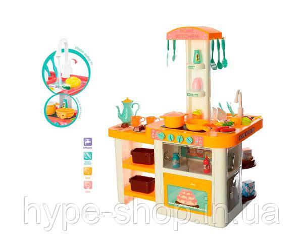 Детский набор игровая детская кухня 889-64, вода,свет,звук 55 предметов Good Beibe