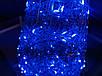 Елка металлическая с гирляндой, железная, лофт, loft, питание от батареек, 100 LED, 45 см., настольная., фото 6