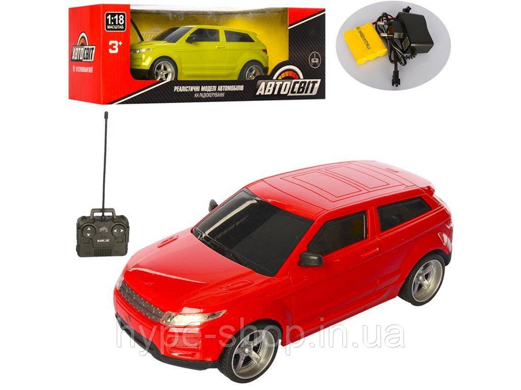 Машина AS-2207 АвтоСвіт, на радиоуправлении, аккумулятор, резиновые колеса