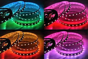 Dilux - Світлодіодна стрічка RGB 5050 60LED/m, негерметична IP33.
