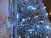 Елка металлическая с гирляндой, железная, лофт, loft, питание от батареек, 100 LED, 45 см., настенная, фото 4