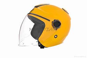 Шлем открытый  DAVID  (#018, L, yellow)