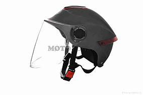 Шлем открытый  DAVID  (#307, с регулятором размера L-XXL, mute dark grey)