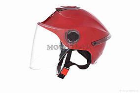 Шлем открытый  DAVID  (#307, с регулятором размера L-XXL, red)